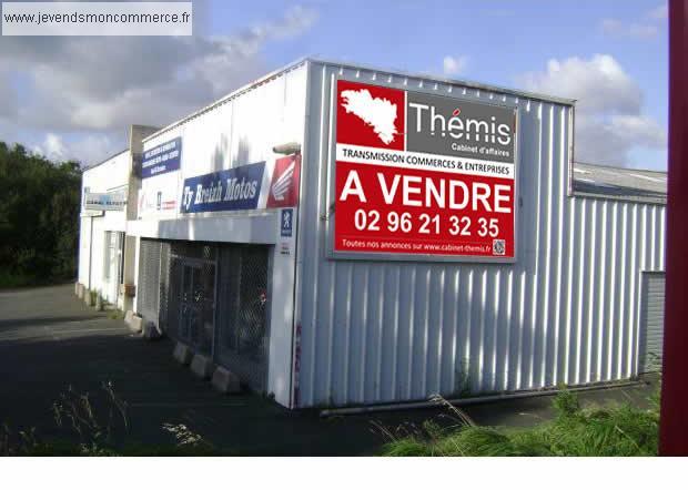 Local commercial de 253m secteur saint marc lannion for A louer garage automobile