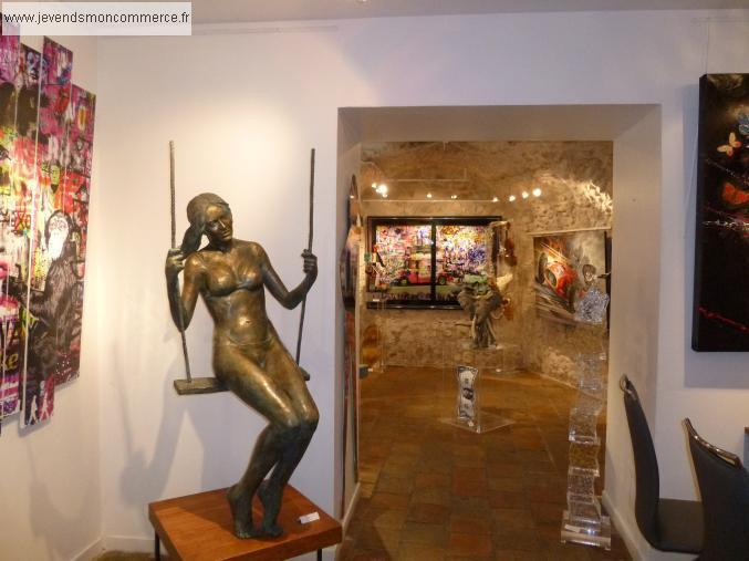 galerie d 39 art st paul de vence vendre alpes maritimes 06. Black Bedroom Furniture Sets. Home Design Ideas