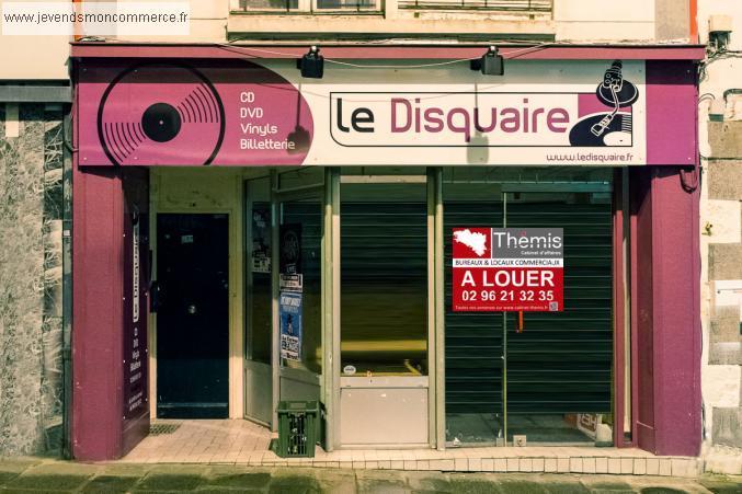 local commercial a louer rue general leclerc saint brieuc saint brieuc vendre c tes d armor 22. Black Bedroom Furniture Sets. Home Design Ideas