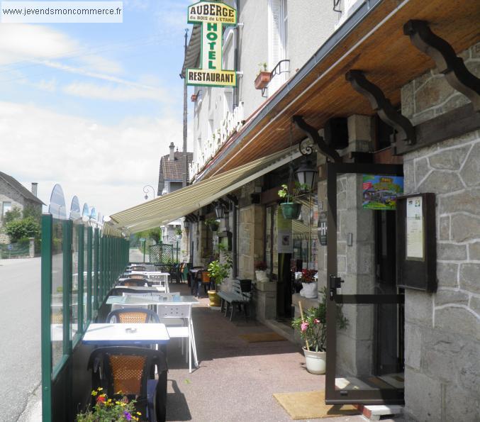 Hotel bar restaurant peyrat le chateau vendre haute for Hotel domont